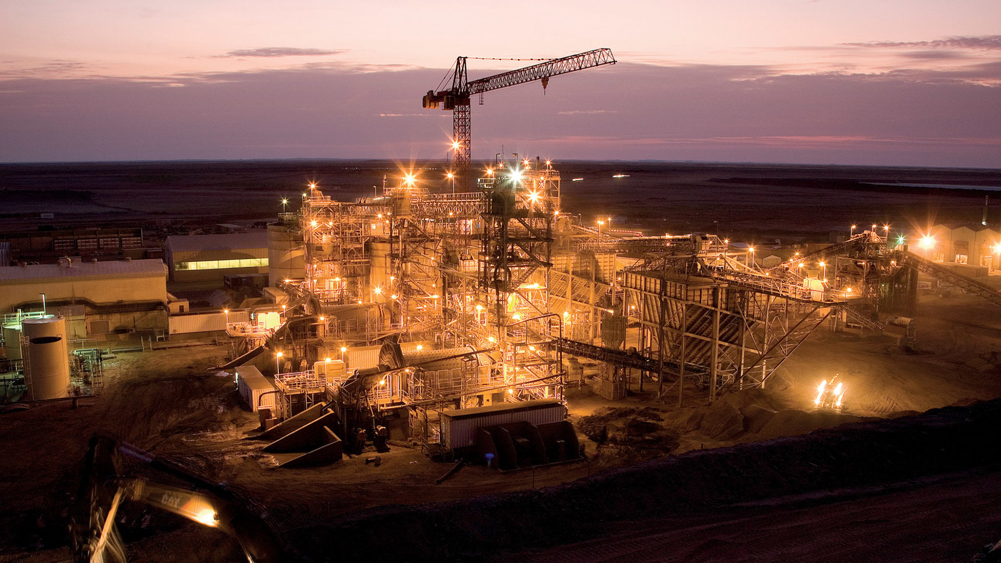 Extension works in the Tasiast gold mine